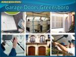 Ppt Springs Repair Garage Doors Service In Greensboro