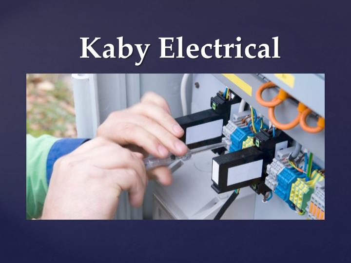 Kaby electrical