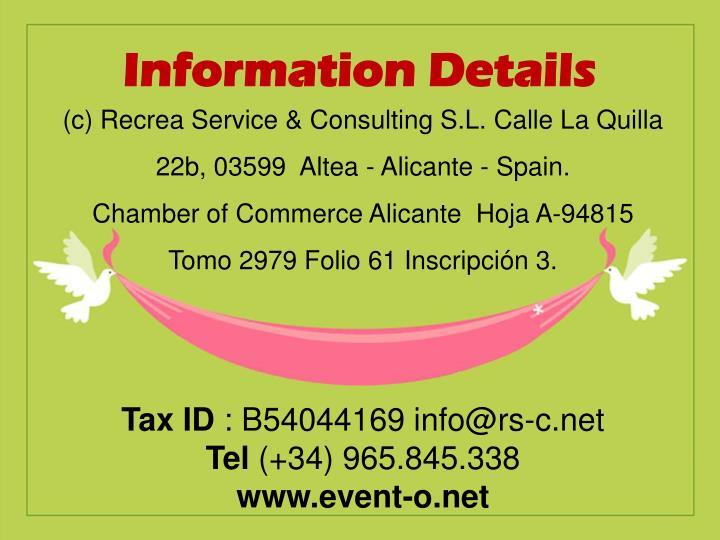Information Details