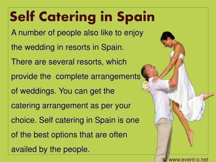 Self Catering in Spain