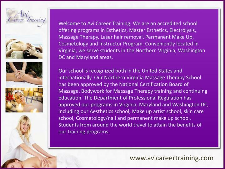 ppt - massage therapy school - avi career training powerpoint ...