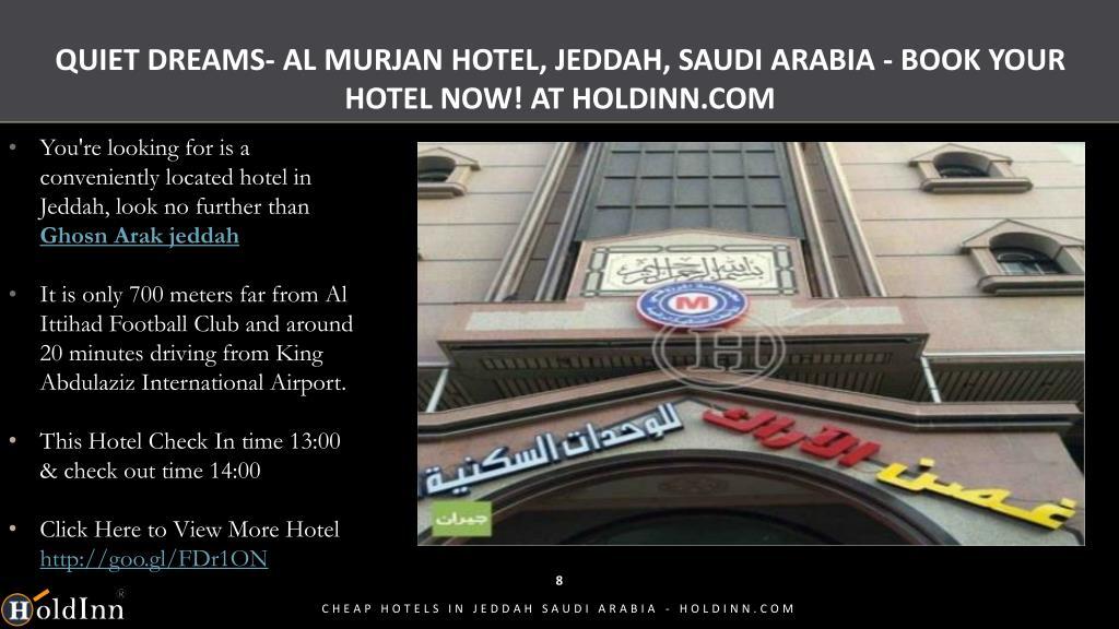 PPT - Cheap Hotels in Jeddah Saudi Arabia - Holdinn com