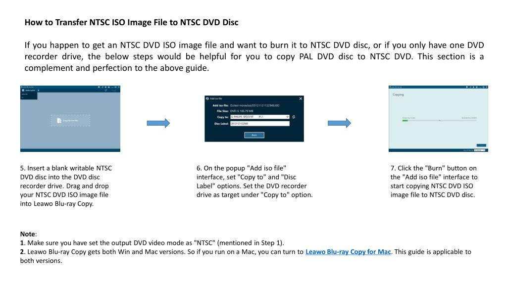 PPT - Pal vs  ntsc dvd – how to convert pal dvd to ntsc dvd