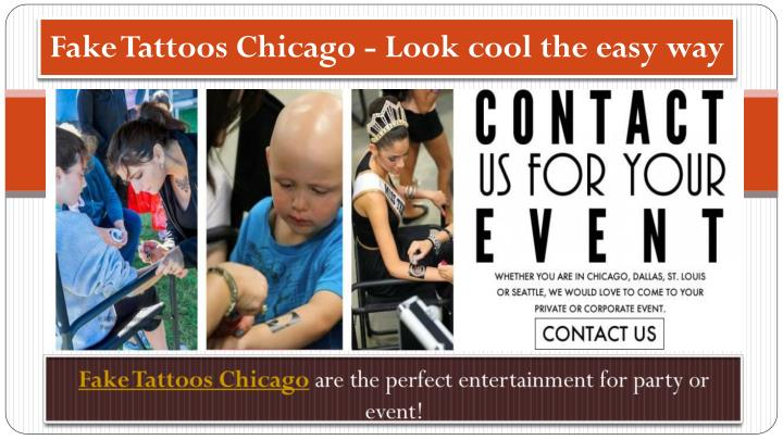 fake tattoos chicago look cool the easy way n.