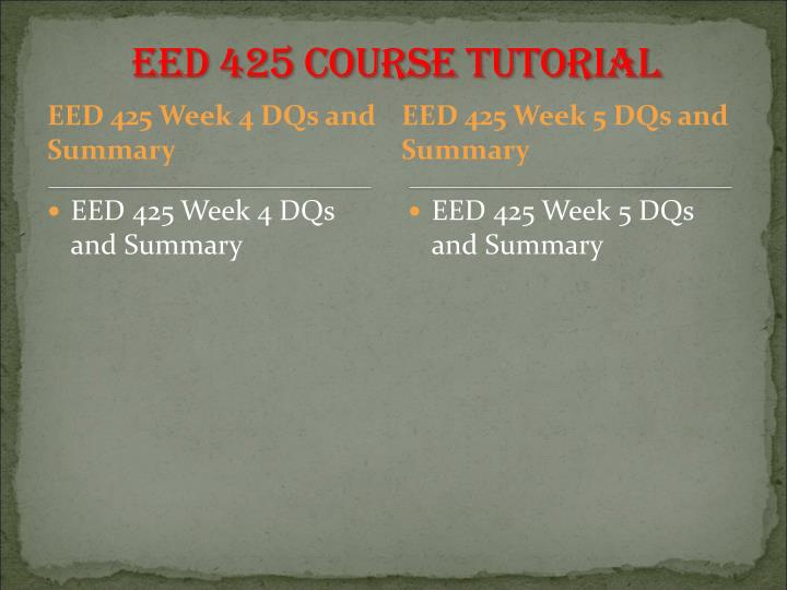 eed 425 week 5 health and Eed 425 entire course (uop) for more course tutorials visit wwweed425com tutorial purchased: 5 times rating: a eed 425 week 1 save health education.