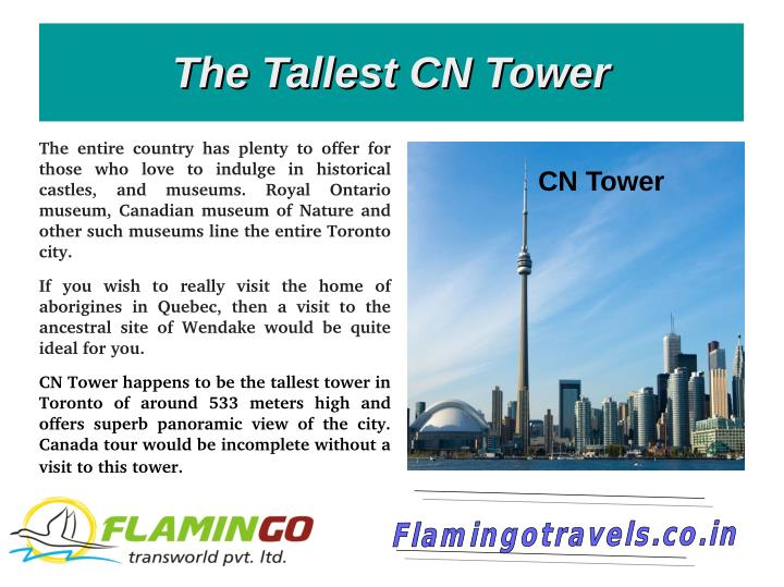 The Tallest CN Tower