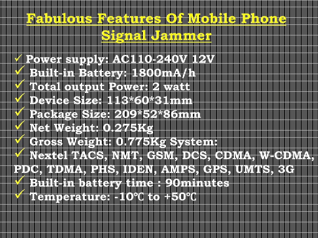PPT - Mobile Phone Signal Jammer, 9717226478 PowerPoint