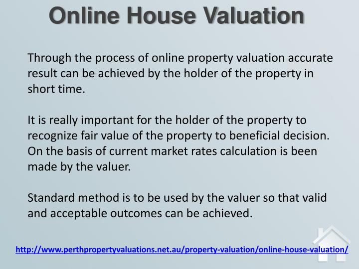 Online House Valuation