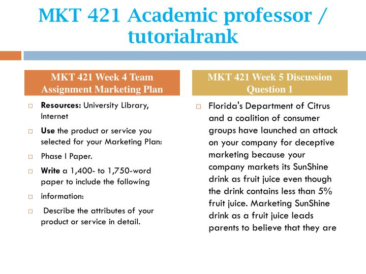 mkt 421 week 2 discussion questions Mkt 421 week 2 practice: market research process watch the market research process video in connect answer the questions that follow note: you have unlimited attempts to complete this assignment.