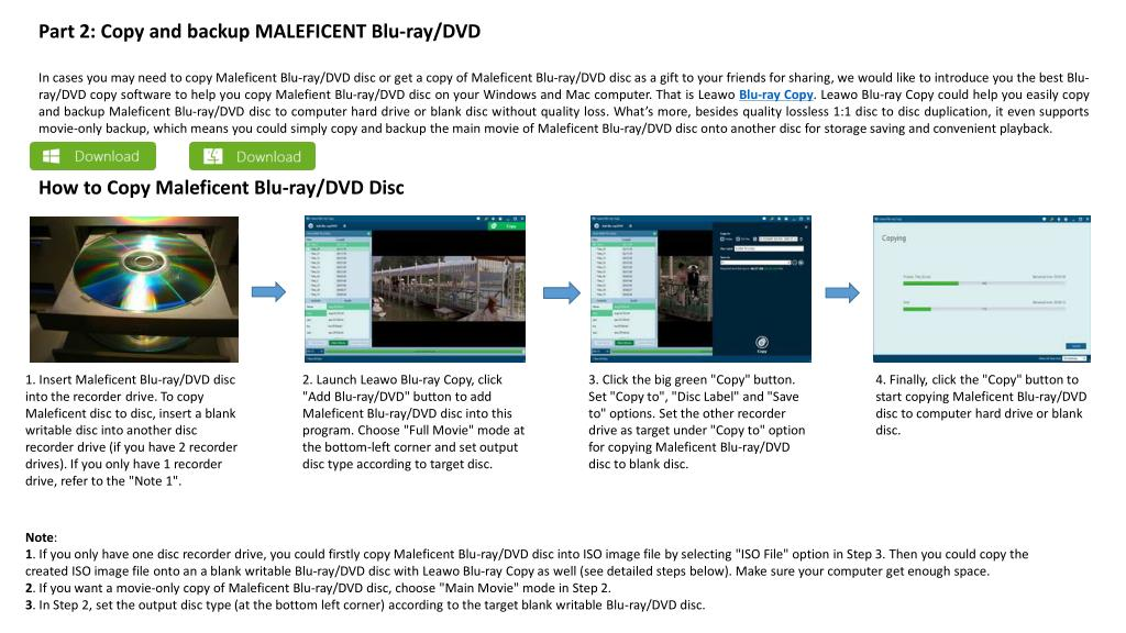 PPT - Get a copy of maleficent blu ray or maleficent dvd disc