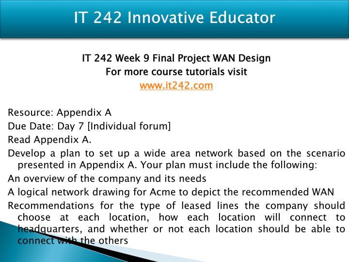 wan design final project