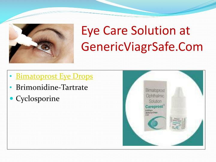 Eye Care Solution at
