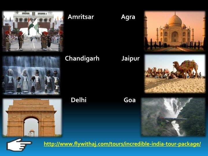 Amritsar                   Agra