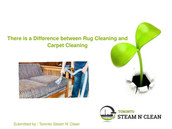 Ppt There Is A Difference Between Rug Cleaning And