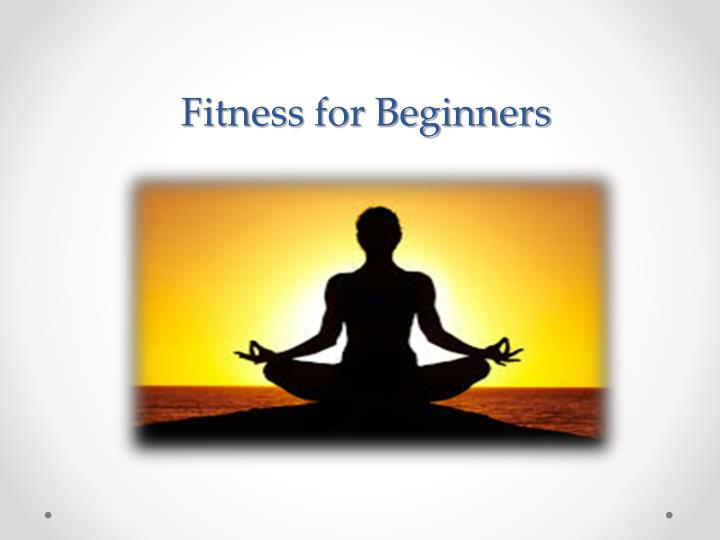 fitness for beginners n.