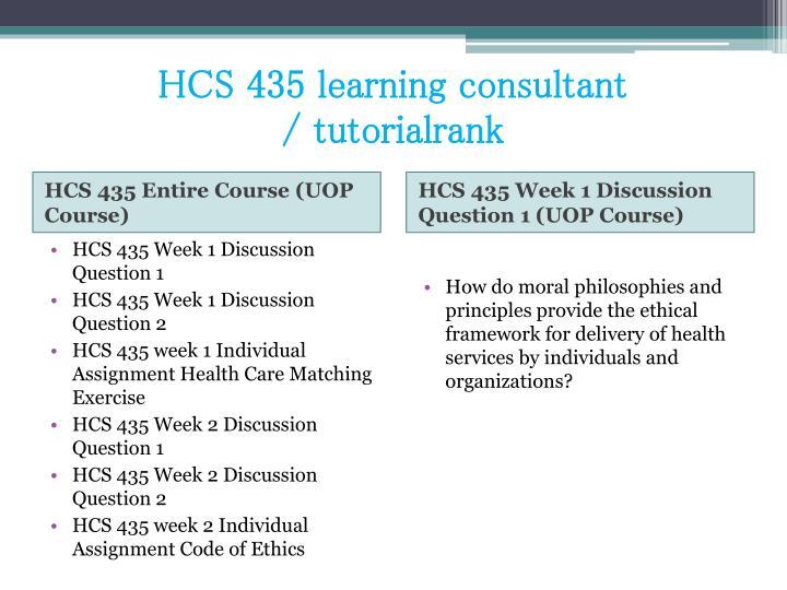 Hcs 435 learning consultant tutorialrank1