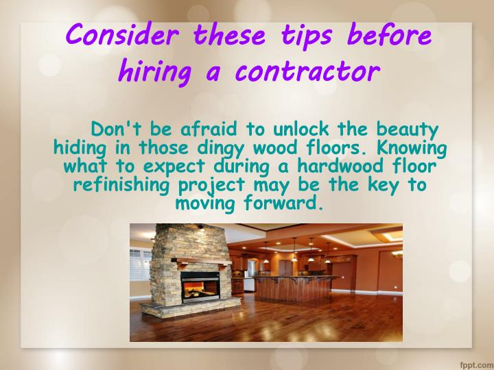 Consider these tips before hiring a contractor