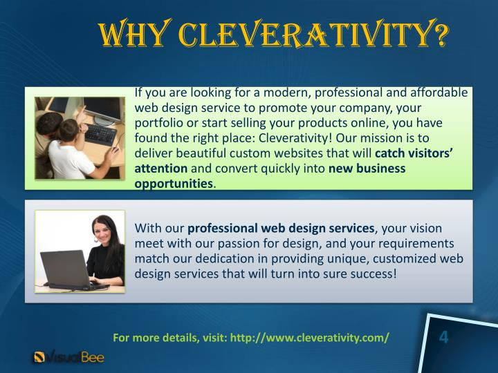 Why Cleverativity?