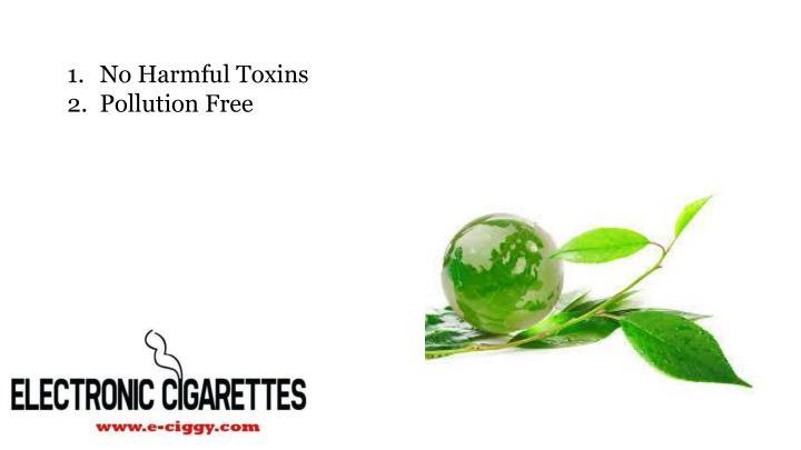 No harmful toxins pollution free