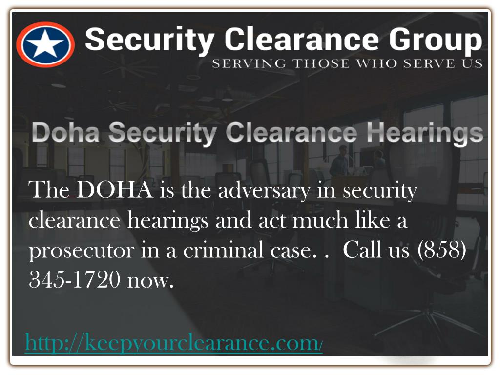 Ppt Security Clearance Lawyers California Powerpoint