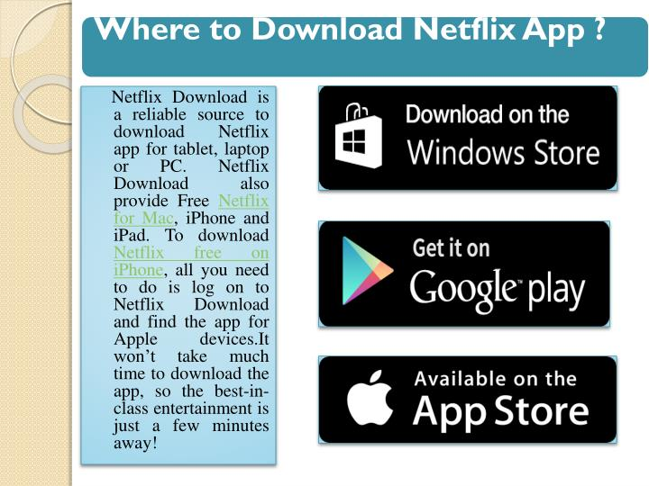 netflix app download for pc