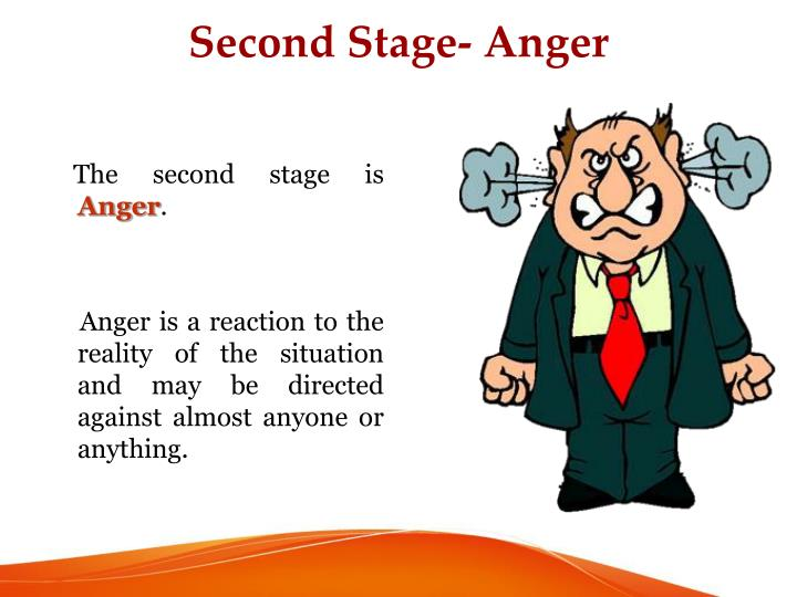 Second Stage- Anger