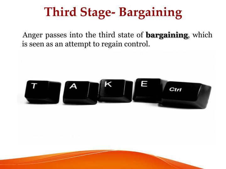 Third Stage- Bargaining