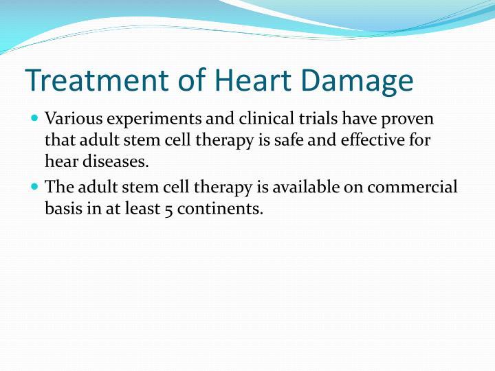 Treatment of Heart Damage