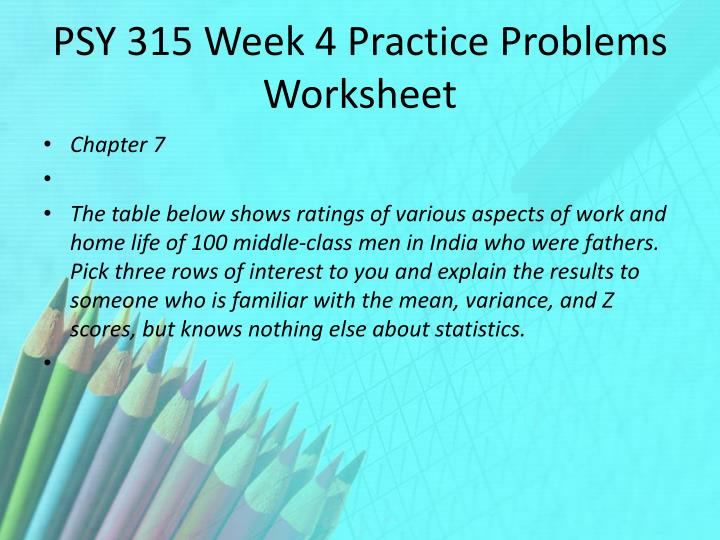 psy 315 11 14 18 practice problems