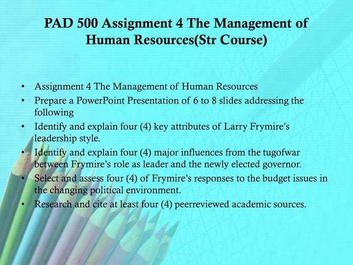 identify and explain four key attributes of larry frymire s leadership style Analysis of larry frymire's leadership style key attributes of leadership style steadfast commitment to this 2009) be sure to explain what information.