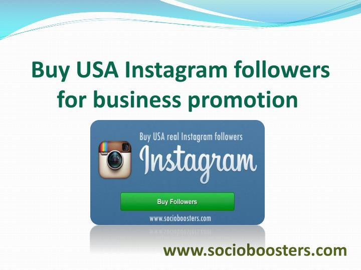 buy usa instagram followers for business promotion n.