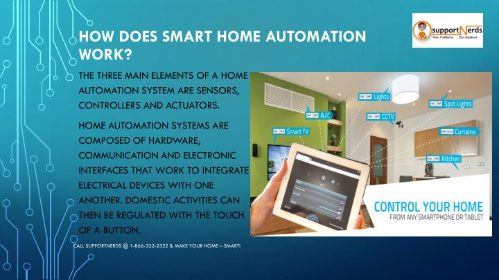 How Does Smart Home Automation Work