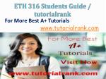 eth 316 students guide tutorialrank11