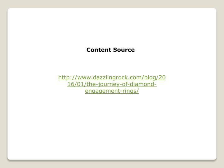 Content Source