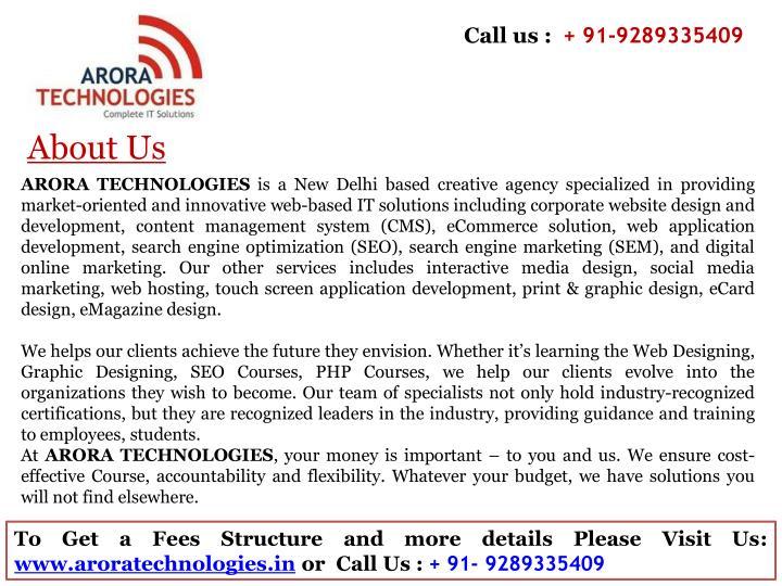Call us :
