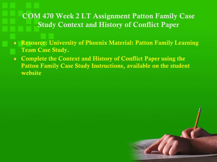 com 156 assignment week 2 Free essays on me1155x week 1 ecm assignment for students use our papers to help you with yours 1 - 30 papercamp: no marshmallows comp 156 - week two assignment.
