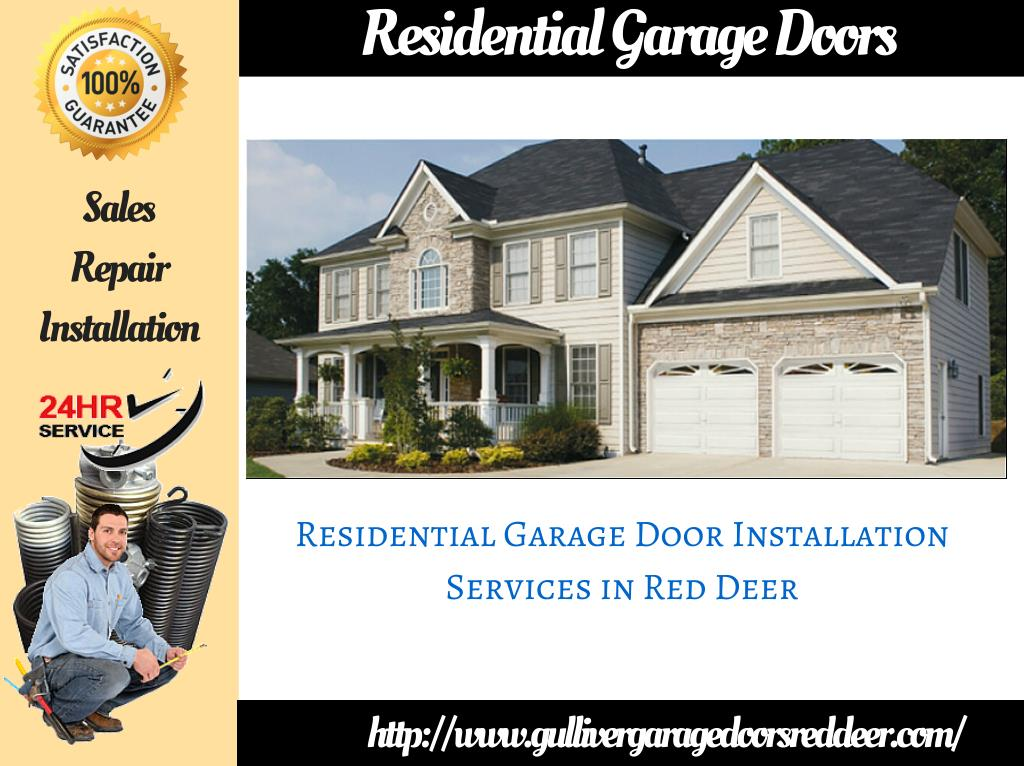 Ppt Red Deer Garage Door Repair And Installation Service Powerpoint Presentation Id 7300549