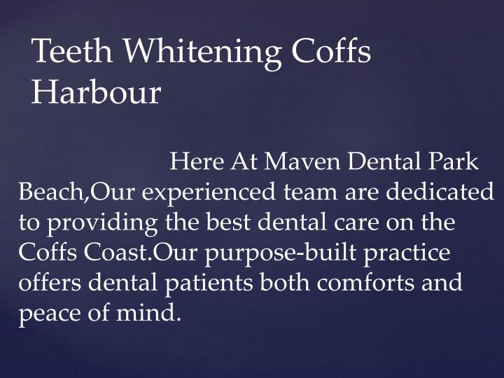 Teeth whitening coffs harbour1