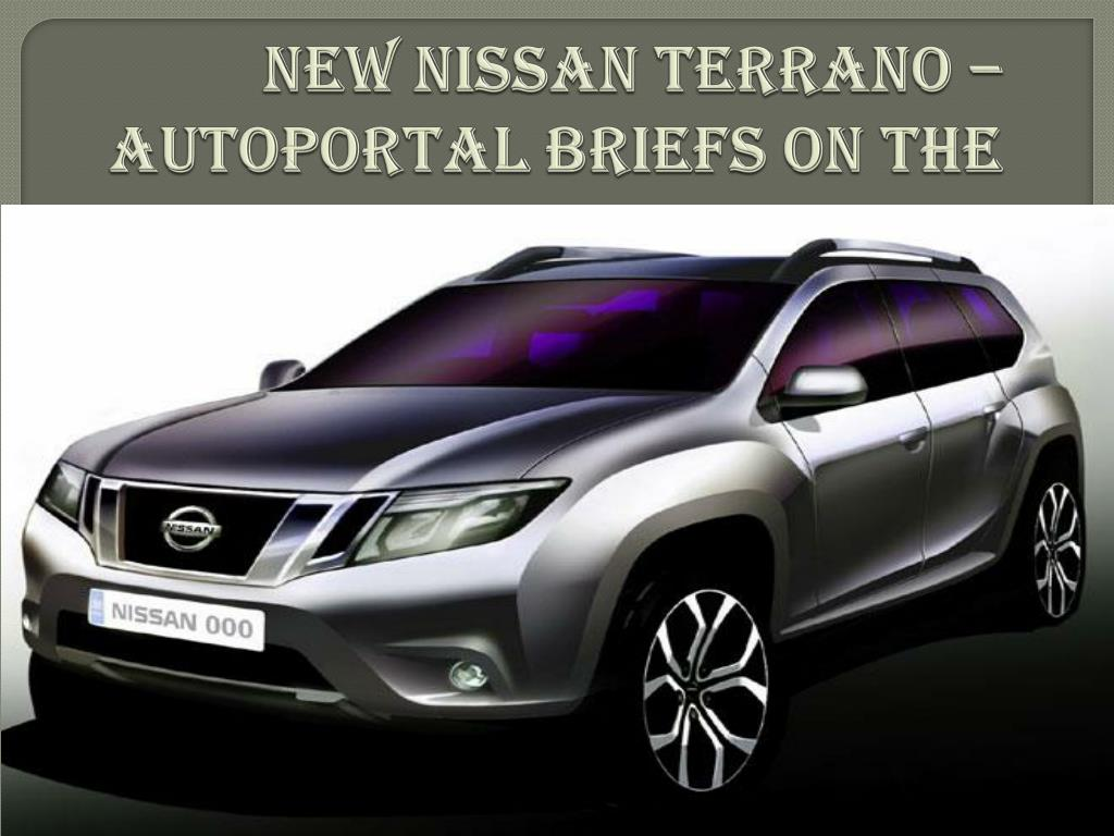 Elegant New Nissan Terrano Autoportal Briefs On The Limited Edition N.