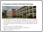 3 vishwakarma institute of information technology