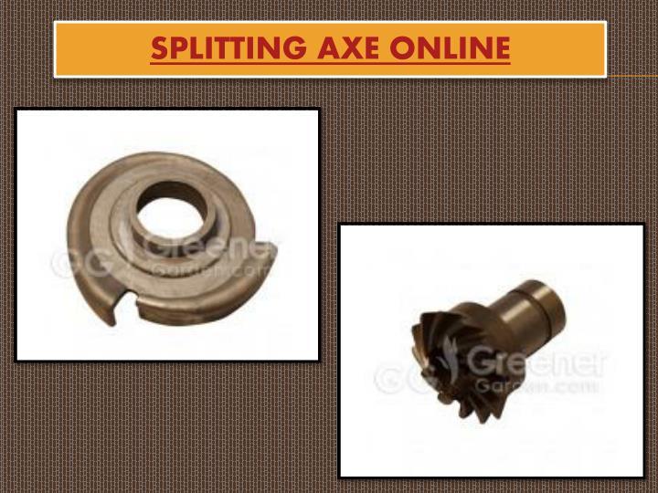 Splitting Axe Online