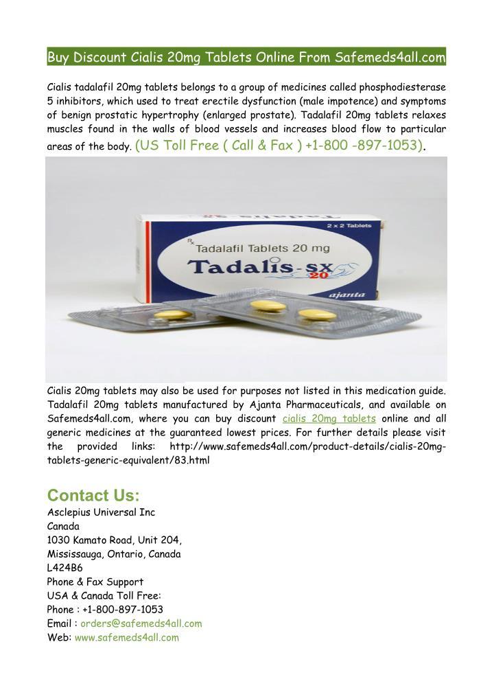 Tadalafil brand name
