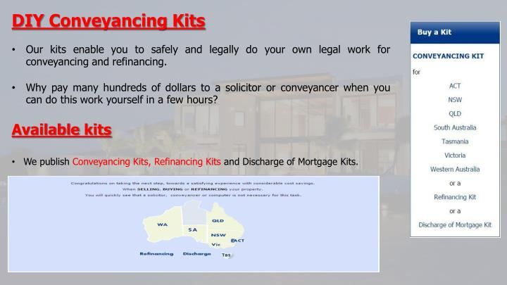 Ppt conveyancing tasmania powerpoint presentation id7301444 diy conveyancing kits solutioingenieria Image collections