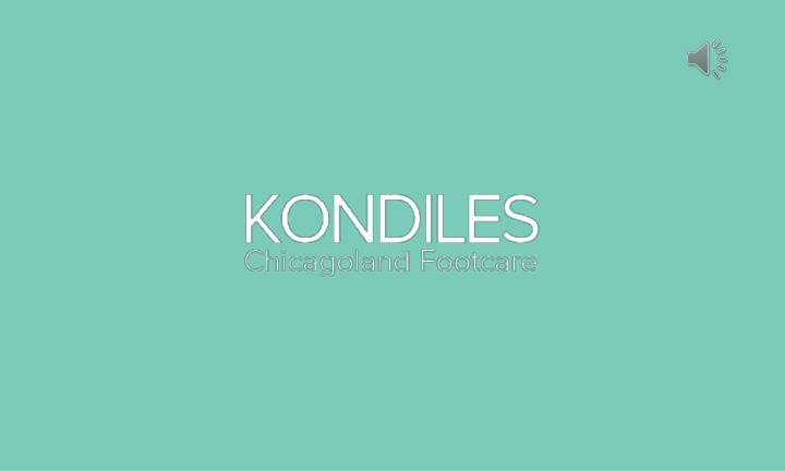 Foot ankle problems treatment kondiles chicagoland footcare