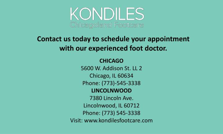 Contact us today to schedule your appointment