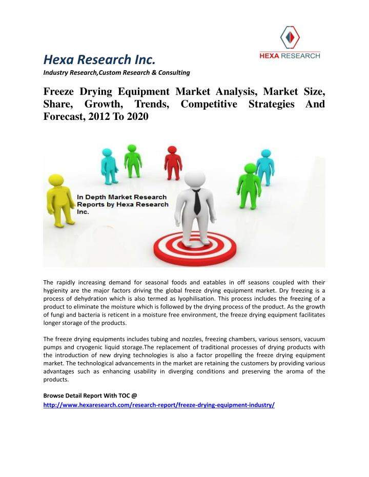 PPT - Freeze Drying Equipment Market Analysis, Size, Share