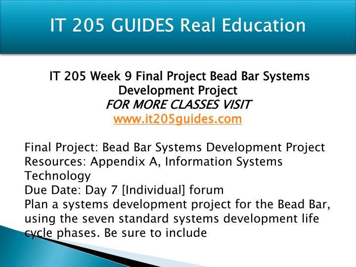 bead bar system development essay