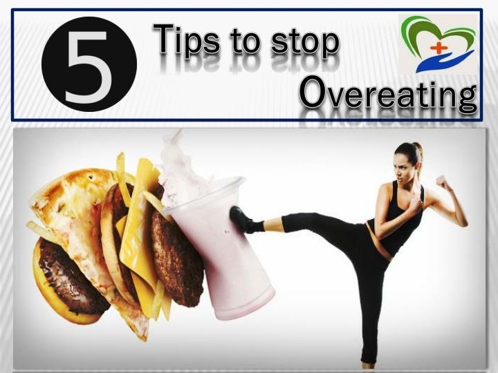 5 tips to avoid overeating ppt