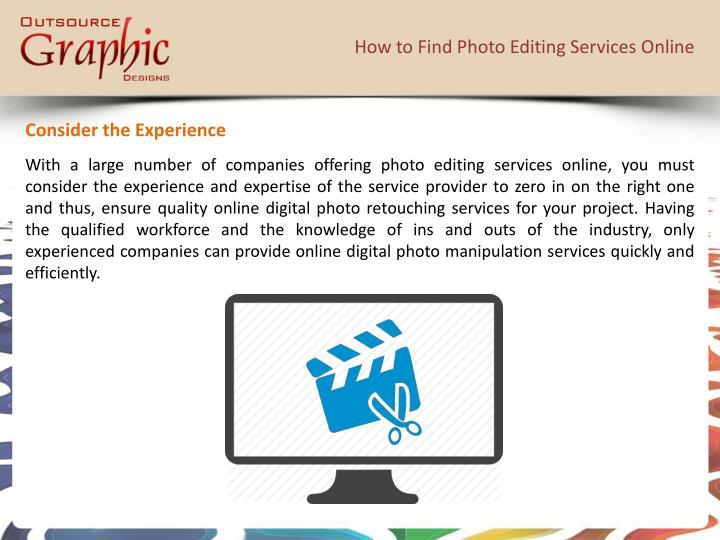 How to find photo editing services online1