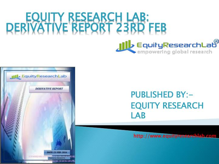 Published by equity research lab http www equityresearchlab com